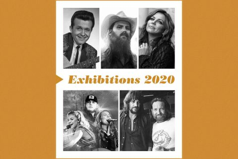 The Country Music Hall Of Fame® and Museum's 2020 exhibitions will feature Country Music Hall of Fame member Bill Anderson, Martina McBride and Chris Stapleton.