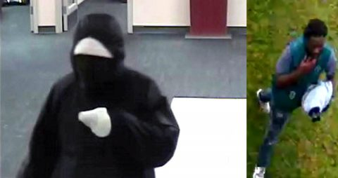 The FBI is trying to identify the suspect in this photo for the robbery of Fifth Third Bank in Hermitage, TN.