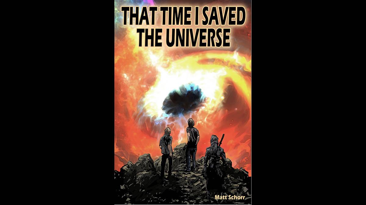 Matt's latest novel,