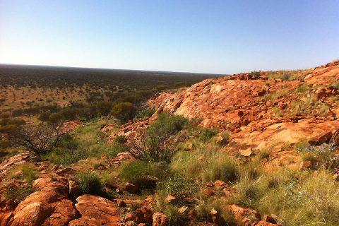Yarrabubba meteor crater in Australia. (NASA)