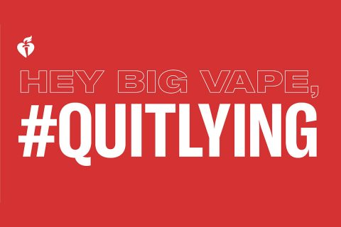Local AHA awarded a grant to launch anti-vaping campaigns in two Middle Tennessee School Districts. (American Heart Association)