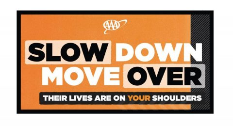 Slow Down Move Over. (AAA)