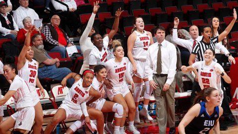 Austin Peay State University Women's Basketball is on the road Thursday to take on Tennessee State. (Robert Smith, APSU Sports Information)
