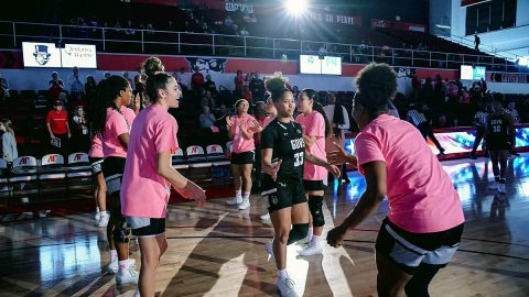 Austin Peay State University Women's Basketball defeats Eastern Kentucky 69-53 at the Dunn Center Saturday afternoon. (APSU Sports Information)