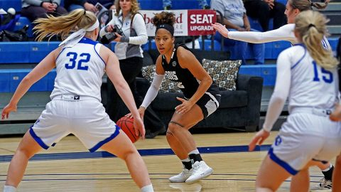 Austin Peay State University Women's Basketball takes Eastern Illinois down to the wire in 73-72 loss Saturday. (Casey Crigger, APSU Sports Information)
