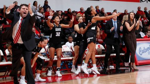 Austin Peay State University Women's Basketball beats Morehead State 70-65 at the Dunn Center, Thursday night. (APSU Sports Information)