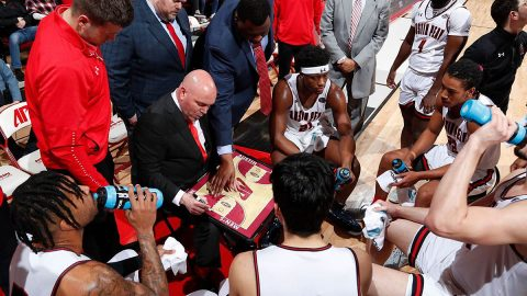 Austin Peay State University Men's Basketball travels to Murray State Saturday looking to win a share of the OVC Title. (Robert Smith, APSU Sports Information)