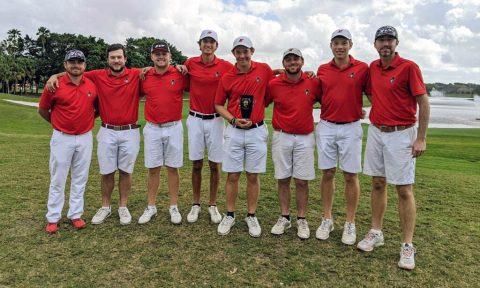 Austin Peay State University Men's Golf pushes Belmont to the limit in Match Play Championship. (APSU Sports Information)