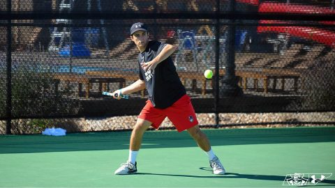 Austin Peay State University Men's Tennis drops close match to Wright State, Saturday. (APSU Sports Information)