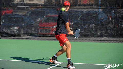 Austin Peay State University Men's Tennis wins back to back matches with sweep of Cumberland, Tuesday. (APSU Sports Information)