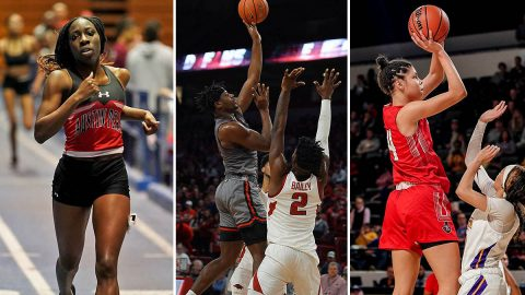 Austin Peay State University Track, Men's Basketball and Women's Basketball begin final weeks of their schedule, looks towards OVC Tournaments. (APSU Sports Information)