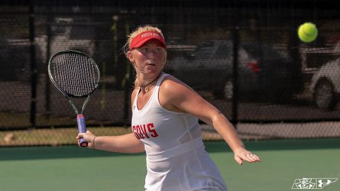 Austin Peay State University Women's Tennis defeats Dayton, Wright State this week. Win streak now at five. (APSU Sports Information)