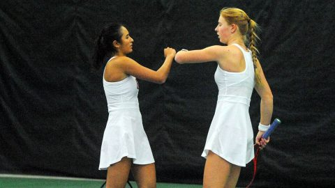 Austin Peay State University Women's Tennis defeats Cumberland 7-0 Tuesday at the Governors Tennis Center. (APSU)