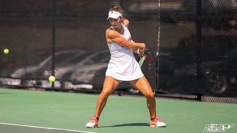 Austin Peay State University Women's Tennis makes it seven win in a row with 6-1 victory over Carson-Newman, Friday. (APSU Sports Information)
