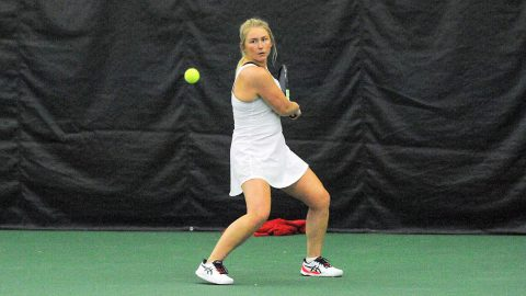 Austin Peay State University Women's Tennis finish their non-conference games with 7-0 victory over IUPUI. (APSU Sports Information)