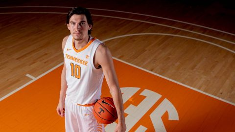 Tennessee Men's Basketball plays Kentucky at Thompson-Boling Arena Saturday afternoon. (UT Athletics)