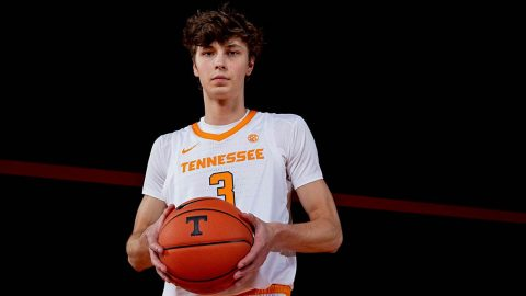 Tennessee Men's Basketball hosts in state rival Vanderbilt Tuesday afternoon. (UT Athletics)
