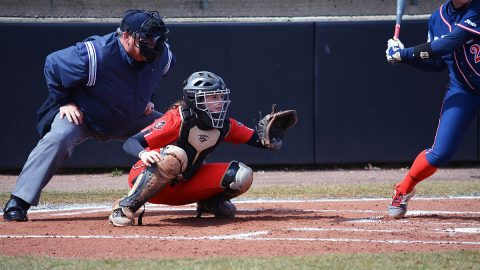 Austin Peay State University Softball beat Evansville 4-2 but then falls later in the tournament to South Alabama 8-2. (APSU Sports Information)