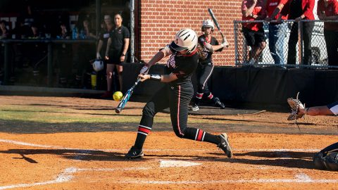Austin Peay State University Softball loses to Central Michigan 4-3, then later to James Madison 13-2 at Annual Georgia Classic, Friday. (APSU Sports Information)