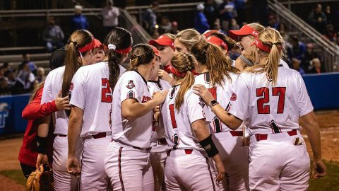 Austin Peay State University Softball unable to get on track against ranked Georgia, Sunday. (APSU Sports Information)