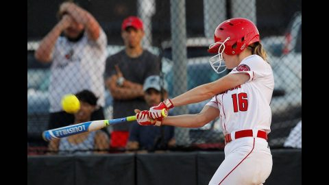 Austin Peay State University Softball team cranked out a school record 20 hits in win against IUPUI, Saturday. (Robert Smith, APSU Sports Information)