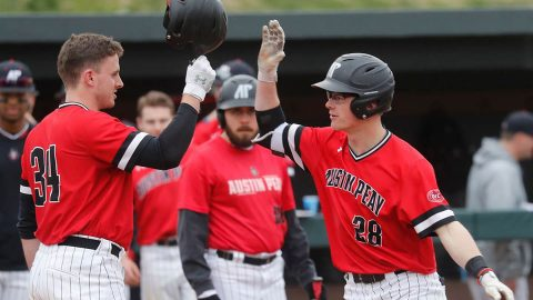Heavy rain in the Clarksville area has forced the Austin Peay State University Baseball's Tuesday home game to be moved to Western Kentucky. (Robert Smith, APSU Sports Information)