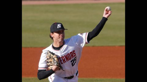 Austin Peay State University Baseball was unable to get anything going Friday against Samford in 6-0 loss. (Robert Smith, APSU Sports Information)