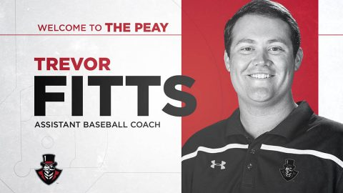Austin Peay State University Baseball adds Trevor Fitts to Governors staff as pitching coach. (APSU Sports Information)