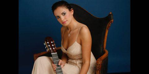 Classical guitarist Ana Vidovic