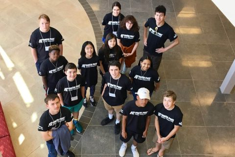 Austin Peay State University Summer Coding Camp group. (APSU)