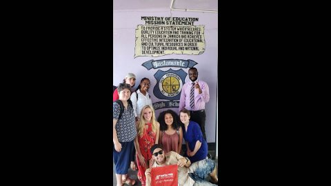 Austin Peay State University students in Jamaica. (APSU)