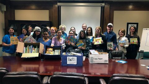 The Mayor's Youth Council conducted a book drive last year as a service project, collecting 1,012 books to donate to several Clarksville-Montgomery County elementary schools.