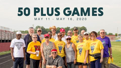 Clarksville Parks and Recreation's 50 Plus Games return May 11th-16th. Active adults should register before April 17th for discount.