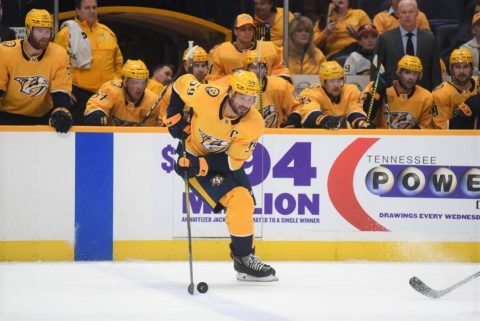 Nashville Predators hammer the New York Islanders 5-0. (Michael Strasinger)