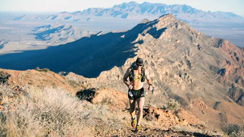 Capt. Michael Rose, commander of B Company, 2nd Battalion, 506th infantry Regiment, 3rd Brigade Combat Team, 101st Airborne Division (Air Assault), runs the 100-kilometer race in the Lone Star 100 race on February 8th. (Staff Sgt. Michael Eaddy, 3rd Brigade Combat Team, 101st Airborne Division (AA) Public Affairs)