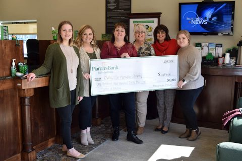 Humane Society of Clarksville - Planters Bank, Hilldale, Clarksville raised money for the Humane Society of Clarksville Montgomery County