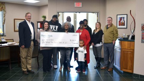 Planters Bank, Commerce, Clarksville raised money for I'm Invisible Bullying & Suicide Prevention