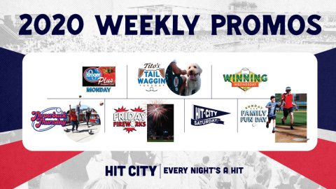 Nashville Sounds 2020 Weekly Promotions