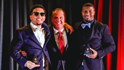 Austin Peay State University holds Night of Champions to honor the 2019 APSU Football team. (APSU Sports Information)