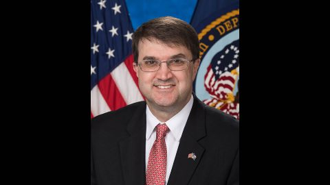 Robert Wilkie, Secretary of the Department of Veterans Affairs, to give recognition to the Montgomery County Veterans Coalition on April 3rd.