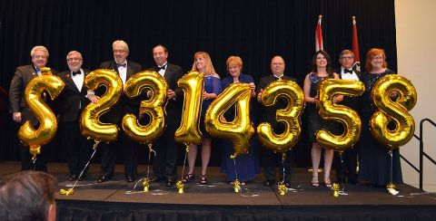 Middle and West Tennessee Rotarians raised more than $2.3 million at inaugural Million Dollar Dinner.