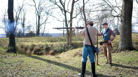 Surrender of Clarksville to feature Uniformed Soldiers provide Living History and Cannon Firing Demonstrations at Fort Defiance.
