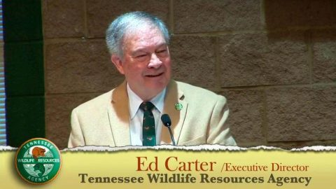 Ed Carter, executive director for the Tennessee Wildlife Resources Agency (TWRA) announces his retirement.
