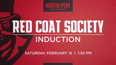 Three set for Austin Peay State University Red Coat Society enshrinement this Saturday. (APSU Sports Information)