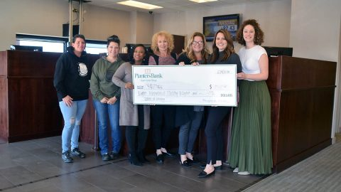 Planters Bank, Rossview, Clarksville raised money for YAIPaks