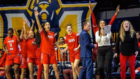 Austin Peay State University Women's Basketball get historic 29 point road win over Murray State, Saturday. (APSU Sports Information)