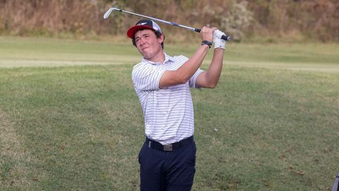 Austin Peay State University Men's Golf sits in 16th place at Tiger Invitational. (APSU Sports Information)