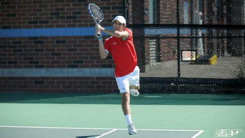 Austin Peay State University Men's Tennis sees winning streak en at IUPUI, Saturday. (APSU Sports Information)