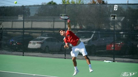 Austin Peay State University Men's Tennis lost Sunday to #19 Tennessee Vols 4-0 in Knoxville. (APSU Sports Information)