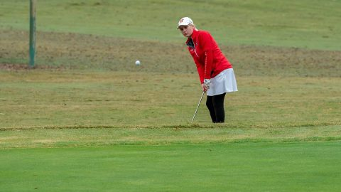 Austin Peay State University Women's Golf senior Meghann Stamps shot a 71 on day 2 of the Kiawah Island Classic, Monday. (APSU Sports Information)